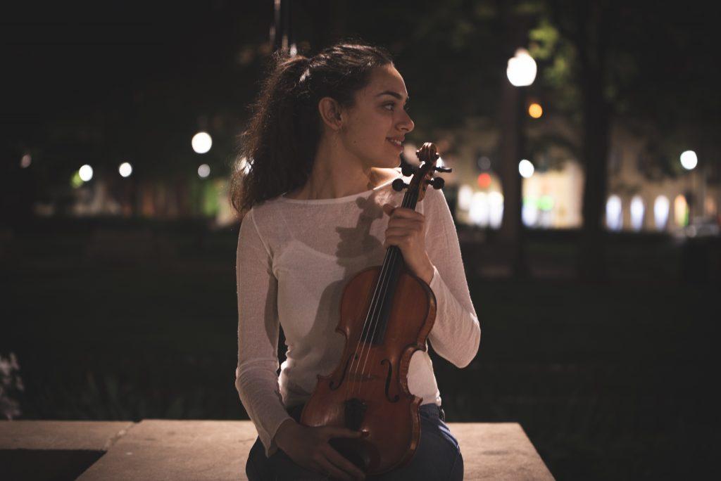 Violininst Nastasja Vojinović